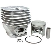 Cylinder And Piston Assembly 48mm For Husqvarna 261 262xp Chainsaws. 503 54 11 72