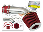 Short Ram Air Intake Kit + Red Filter For 2001-2003 Acura Cl/tl Type-s 3.2l