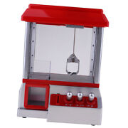Prize Grabber Machine Toy For Kids Boys And Girls With Power Cable And 24 Coins