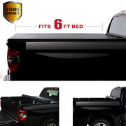 6' Roll-up Soft Tonneau Cover Fit 16-21 Toyota Tacoma Pickup Truck Bed Covers
