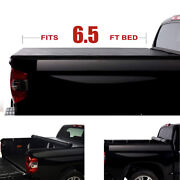 6.5' Roll-up Tonneau Cover Fit 04-14 Ford F150 06-08 Mark Lt Truck Bed Covers