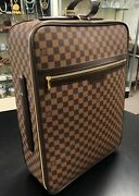 Authentic Louis Vuittons Damier Rollaway Carryon Luggage W/ Accessories