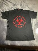 Biohazard Down For Life 90s Vintage Shirt Fiend Band Tee Metal Good Condition