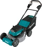 Makita Xml08z Cordless 21 Push Lawn Mower - Bare Tool Battery And Charger Not In
