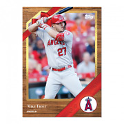 2019 Topps Advent Calendar 11 Mike Trout Angels Only 551 Total Population