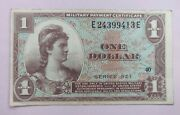 United States 1 Dollar Military Payment Certificate Series 521