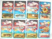 Lot Of 8 Vintage Hotwheels 1983 Ultra Hots And 1979/80 Packin Pacer Hk
