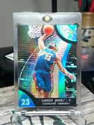 2008 Topps Finest Blue Refractor Lebron James /199...... Awesome