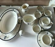 Gorham Town And Country China - Melon Bud - Assorted Serving Pieces And Cups/saucers