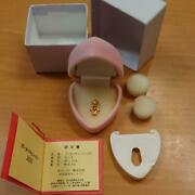 Gold Kewpie 2001 With Certificate Limited Edition Novelty K18