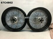 Harley Davidson Xl 1200x 48  2014 Front And Rear Wheel Oem Lot67 67c4862