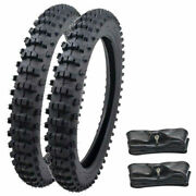 70/100-19 90/100-16 Front Rear Tire Tyre Tube Motocycle Dirt Pit Bike Off Road