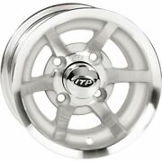 Machined 10x7 4/4 3+4 Itp C-series G5 Golf Cart Wheel - 1028130404