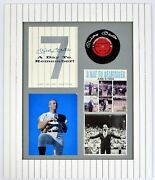 Mickey Mantle 3x Signed Auto Autograph 1969 Retirement Display Rare Jsa/dna