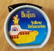 The Beatles 1960s Yellow Submarine Round Drum Shaped Collectable Lunch Box Tin
