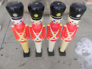 Vintage Hard Plastic Toy Soldier Blow Mold