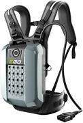 Ego Bax1501 28ah Commercial Series Backpack Battery Harness And Adapter Included