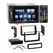 Concept Dvd Usb Mirror Bluetooth Stereo Dash Kit Harness For 02-06 Toyota Camry