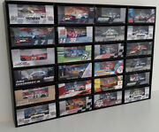 164 Diecast Car Wall Display Case Holds 24 Cars Lionel Nascar Hot Wheels +