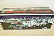 Hess 2013 Toy Truck And Trailer