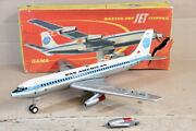 Gama 1100 Push And Go Pan Am Airways Boeing 707 Airliner Jet Clipper Boxed Nx