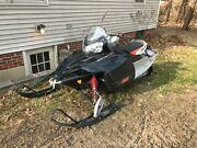 Pick Up Only Polaris 550 Iq I Shift Engine Still In A Goog Running Snowmobile