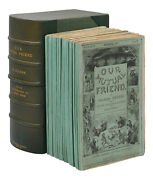 Our Mutual Friend By Charles Dickens First Edition In Parts 1854 - 1855 1st