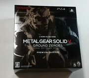 Ps4 Metal Gear Solid V Ground Zeros Premium Package Japan Games