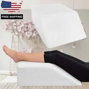 Wedge Foam Resting Leg Pillow For Comfort Blood Circulation Against Back Pain