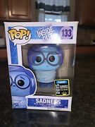 Funko Pop Inside Out Sadness Used 2015 Exclusive Good Condition Retired