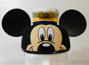 2006 Dcl Mickey Mouse Earhat Disney Cruise Line Captain Ears Hat - Rare Retired