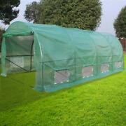 20'x10'x7' Walk-in Green House Portable Plant Gardening Dome Greenhouse Tent