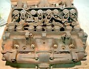 1969 Pontiac 62 High Performance 72cc Factory Heads And Exhaust Manifolds