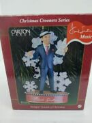 Carlton Cards Swinging Sounds Of Christmas Frank Sinatra Musical Ornament 2000