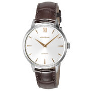 Mens Automatic Watch Heritage Spirit 110695 Analog Blown Leather