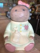 Vintage Treasure Craft Usa Little African American Raggedy All Doll Cookie Jar