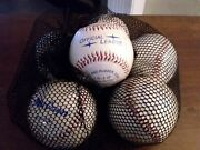 Vintage Macgregor Official League Synthetic Leather Baseballs Lot Of 6 New In...