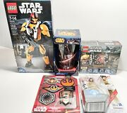 Star Wars Lego Lot Mug Patches Force Link Buildable Figures All New
