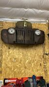 1942 1946 1947 Ford Truck Grille And Front Clip Wall Art Bar Accent Man Cave