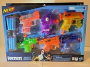 Nerf Fortnite Micro Ice Storm Blasters Set - New Sealed Box - Free Shipping