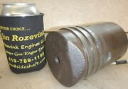 3-1/2 Piston For 1-1/2hp Stover K Hit And Miss Old Gas Engine Part No. E5