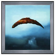 Robert Rasely Oil Painting On Board Surreal Original Seascape Animal Signed Art