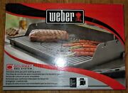Weber 7586 Gourmet Bbq Replacement Cooking Grate And Insert Spirit 300 Gas Grill