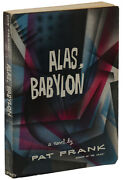 Alas Babylon Pat Frank Advance Uncorrected Proof Arc First Edition 1st 1959