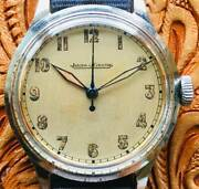 Jaeger-lecoultre 1940s Cal. P478 Manual Winding Military Antique Menand039s Watch