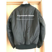 New Tagged Clockwork Orange Ma-1 Blouson