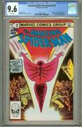 Amazing Spider-man Annual 16 Cgc 9.6 Nm+ White Pages 1st Monica Rambeau, Marvel