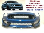 2015-2020 Ford Mustang Shelby Gt350 Cobra Front Bumper Need Paint 4