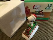 Dept 56 Peanuts Series Snoopy's Christmas Express 4021697 Nos