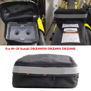 For 2000-20 Suzuki Drz400sm Drz400s Drz400e Rear Seat Fender Track Pack Tool Bag